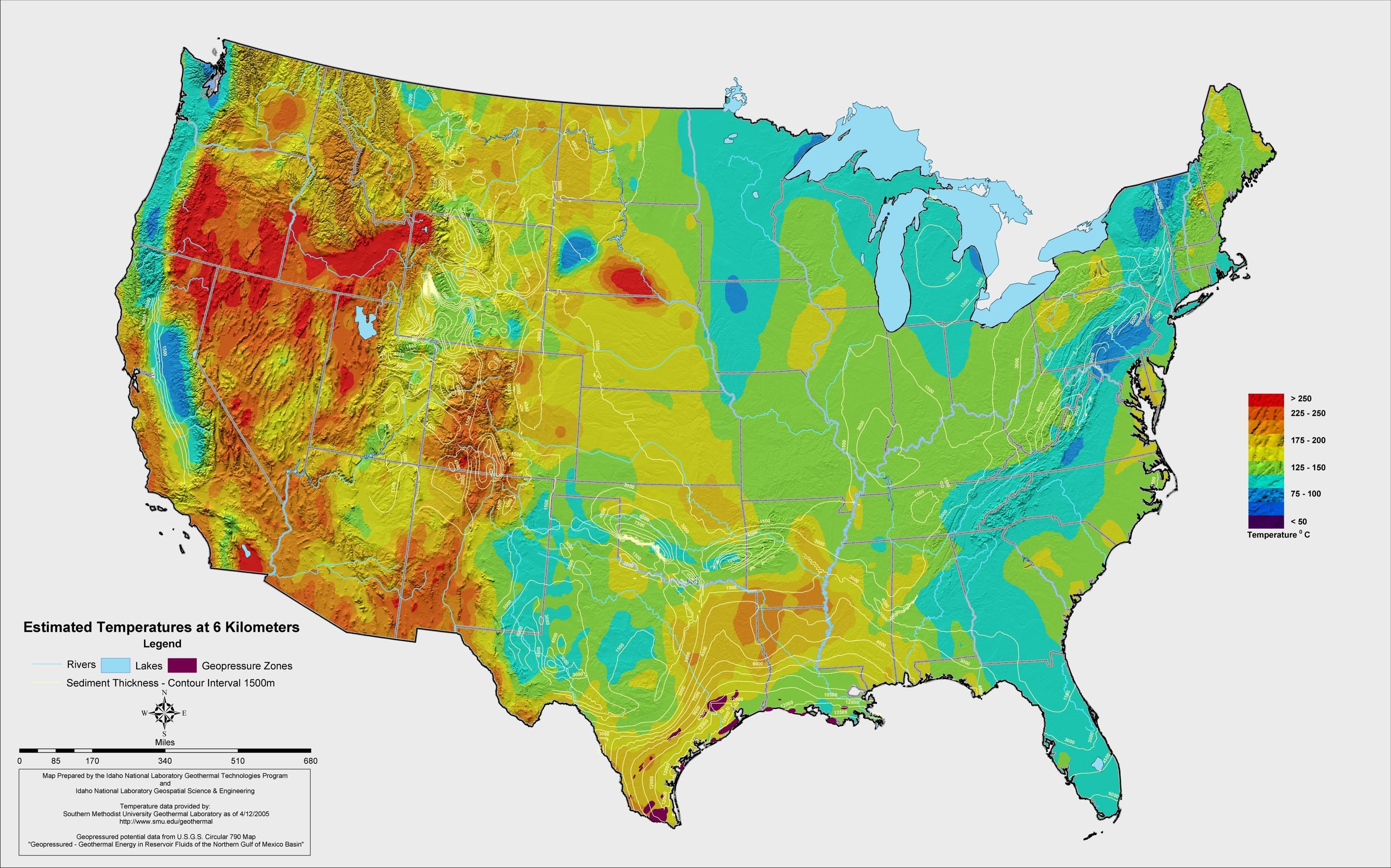 Current US temperature map - US current temperature map ...