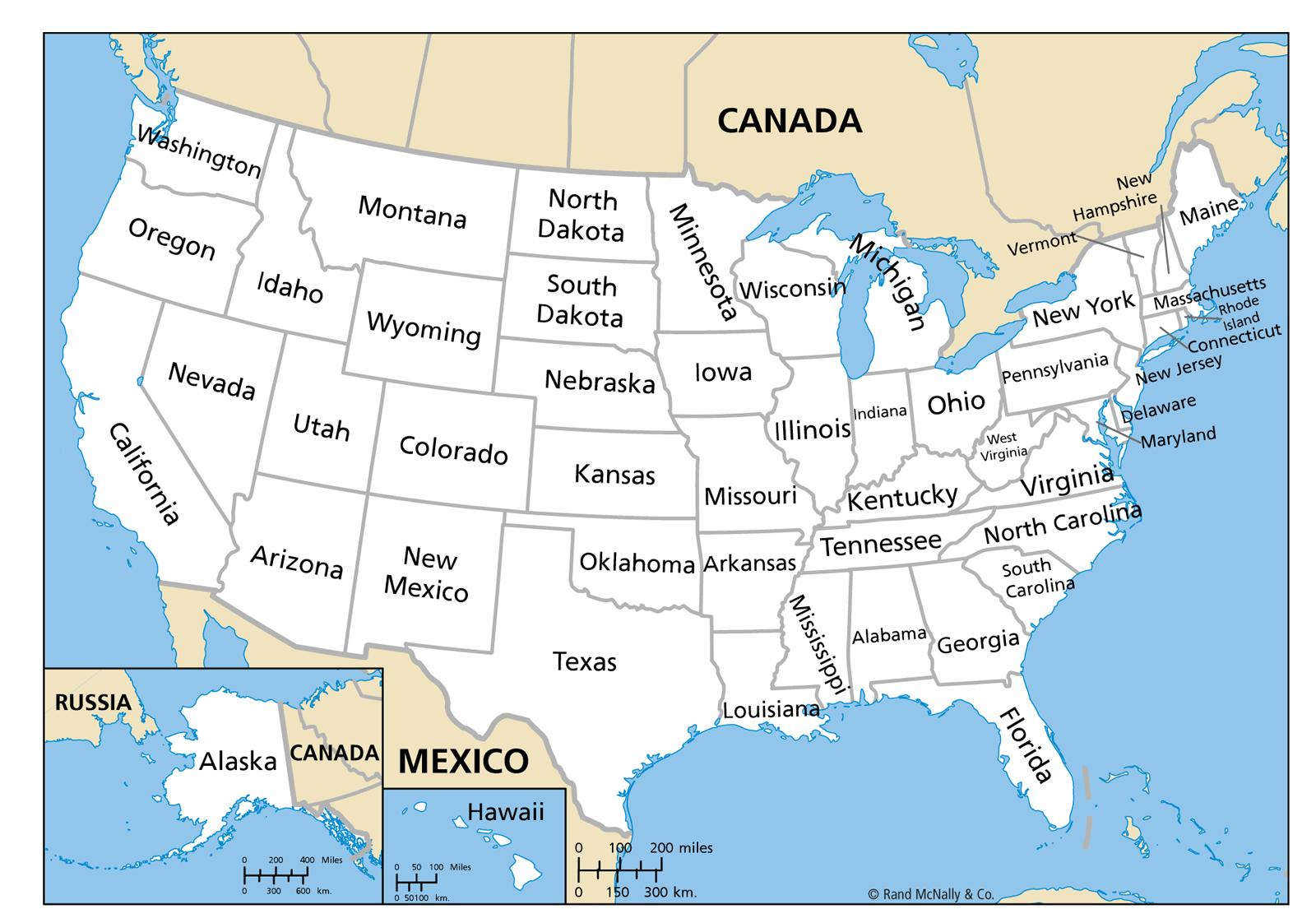 Us Map Of Northern States Current Us Territories Map Northern