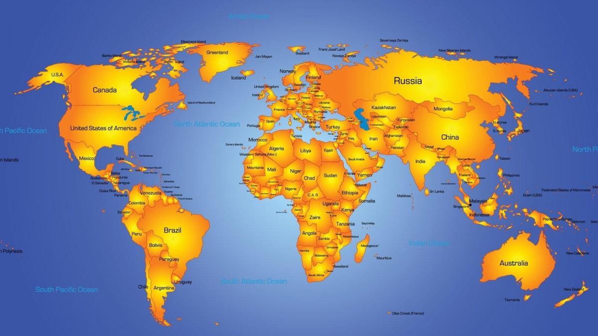 US doppler radar map - Map of US doppler radar (Northern America ...