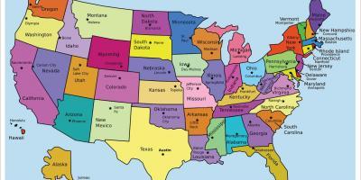 united states usa map maps united states usa northern america americas
